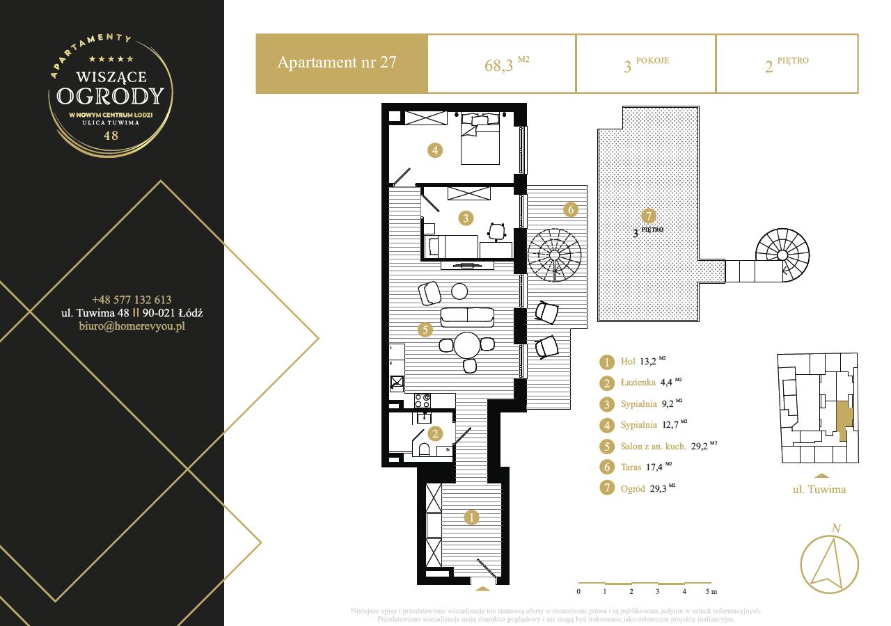 2 piętro, apartament nr 27