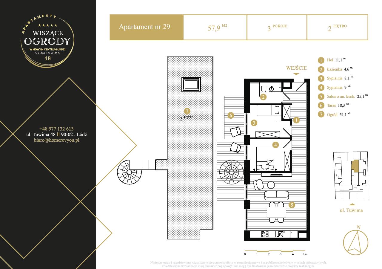2 piętro, apartament nr 29