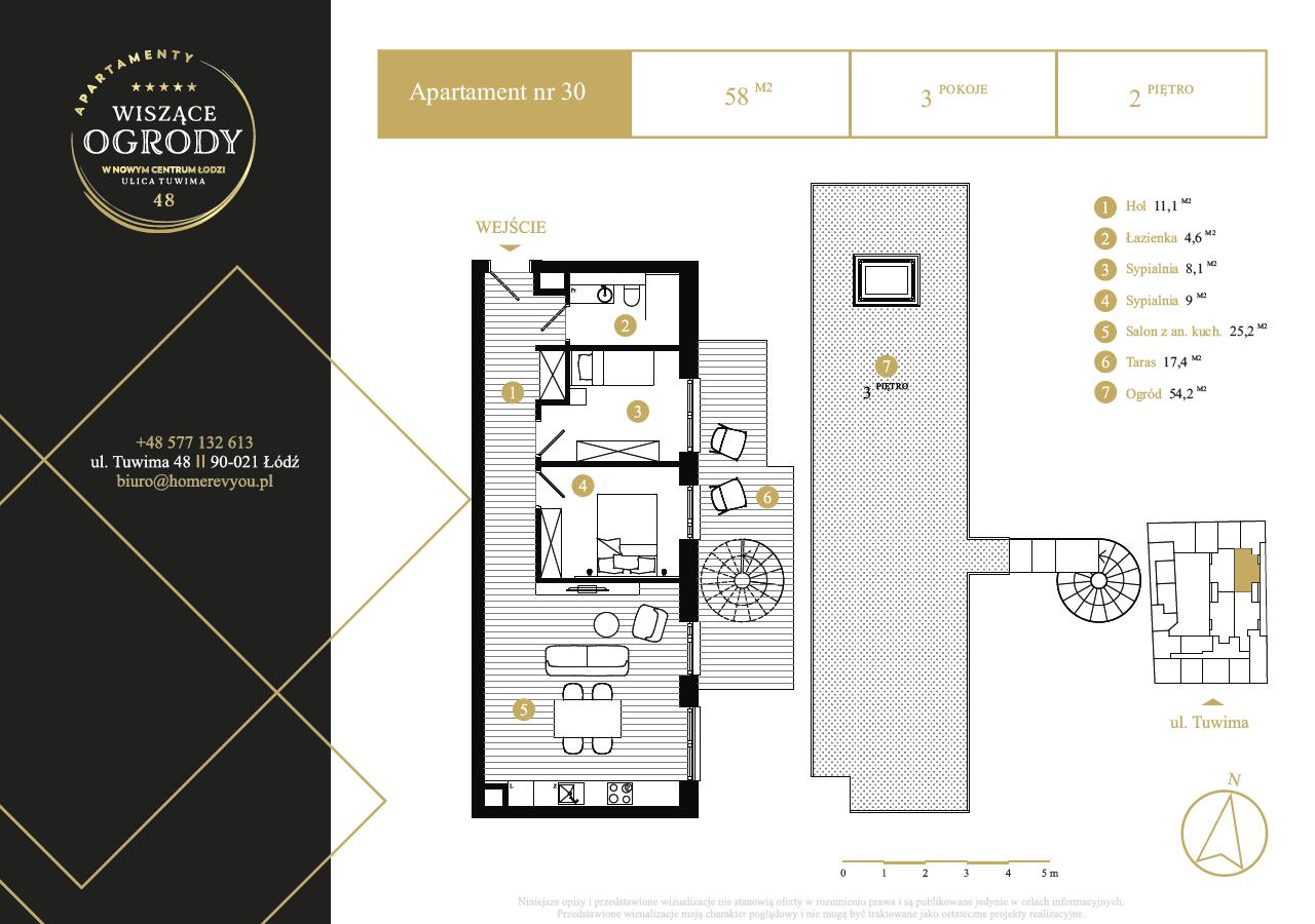2 piętro, apartament nr 30