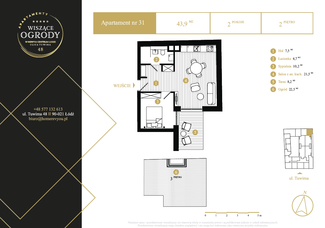 2 piętro, apartament nr 31