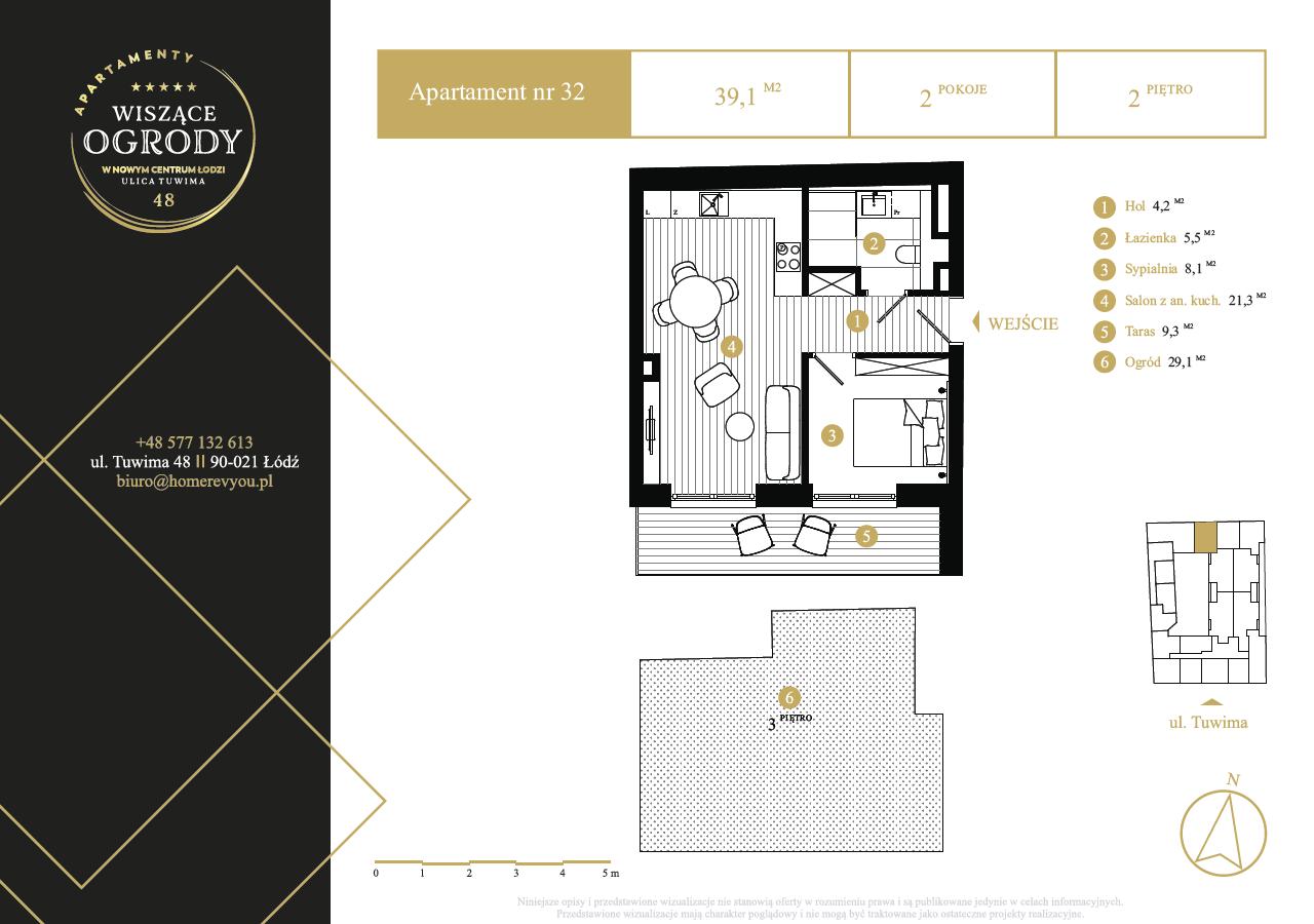 2 piętro, apartament nr 32